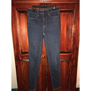 American Eagle Skinny Jeans, Dark Wash